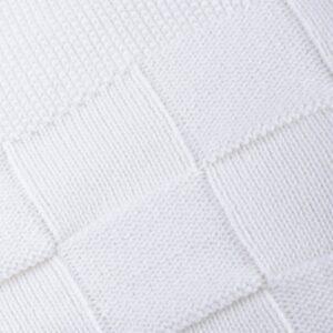 newborn blanket tricot joy pearl look1