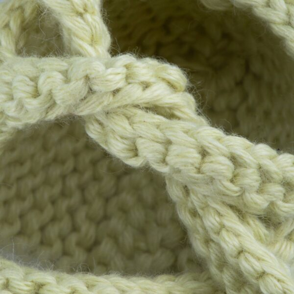 newborn tricot shoes bonnie pale green look