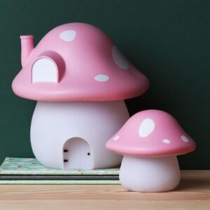 night light pink mushroom look2