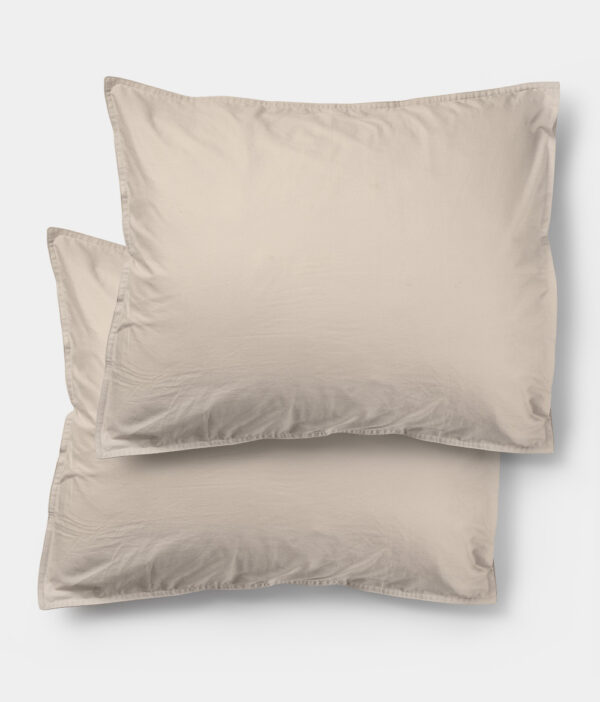 Midnatt Pillowcase Pebble