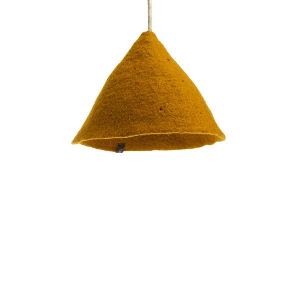 plain tipi lampshade gold