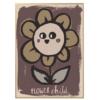 poster flower look