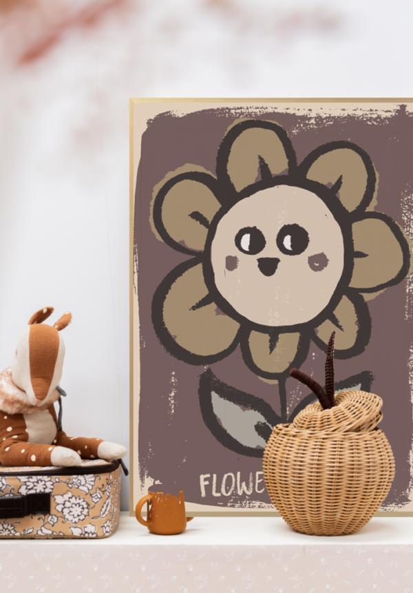 poster flower look2