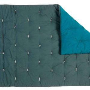 Quilt Blanket Simeon Ardoise Peacock