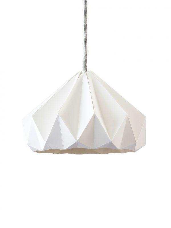 Chestnut Origami Lamp Home Decor