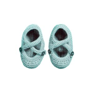 Baby Boy Knitted Botties