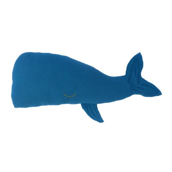 Camille Whale Kids Cushion