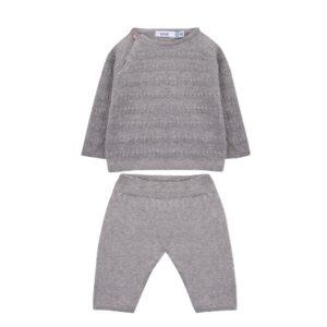 sweater trouser gray