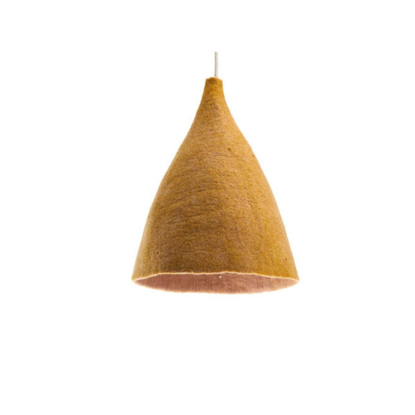 tipi lampshade h quartz pink and gold