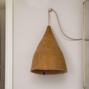 tipi lampshade h quartz pink and gold look