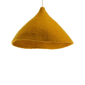 tipi lampshade wide gold