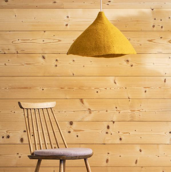 tipi lampshade wide gold look