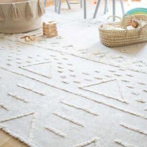tribu rug natural large look