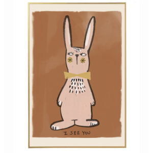 Rabbit Poster for Children's Room