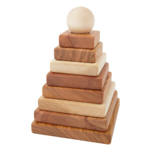 Wooden Toy Pyramid