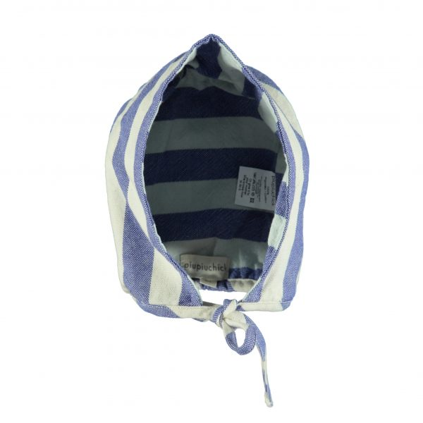 Stripes Baby Bonnet