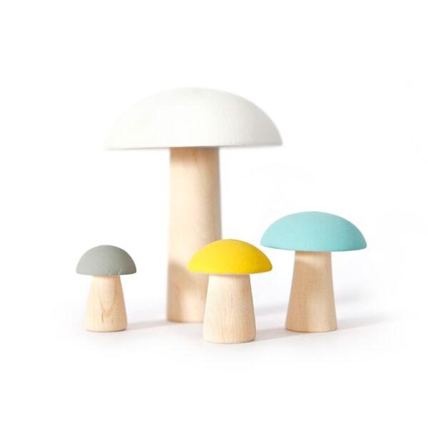 Mushroom Wooden Decor