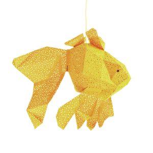 Kids Lighting Fish Lantern